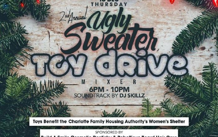The Biggest Ugly Sweater and Toy Drive in Charlotte, NC