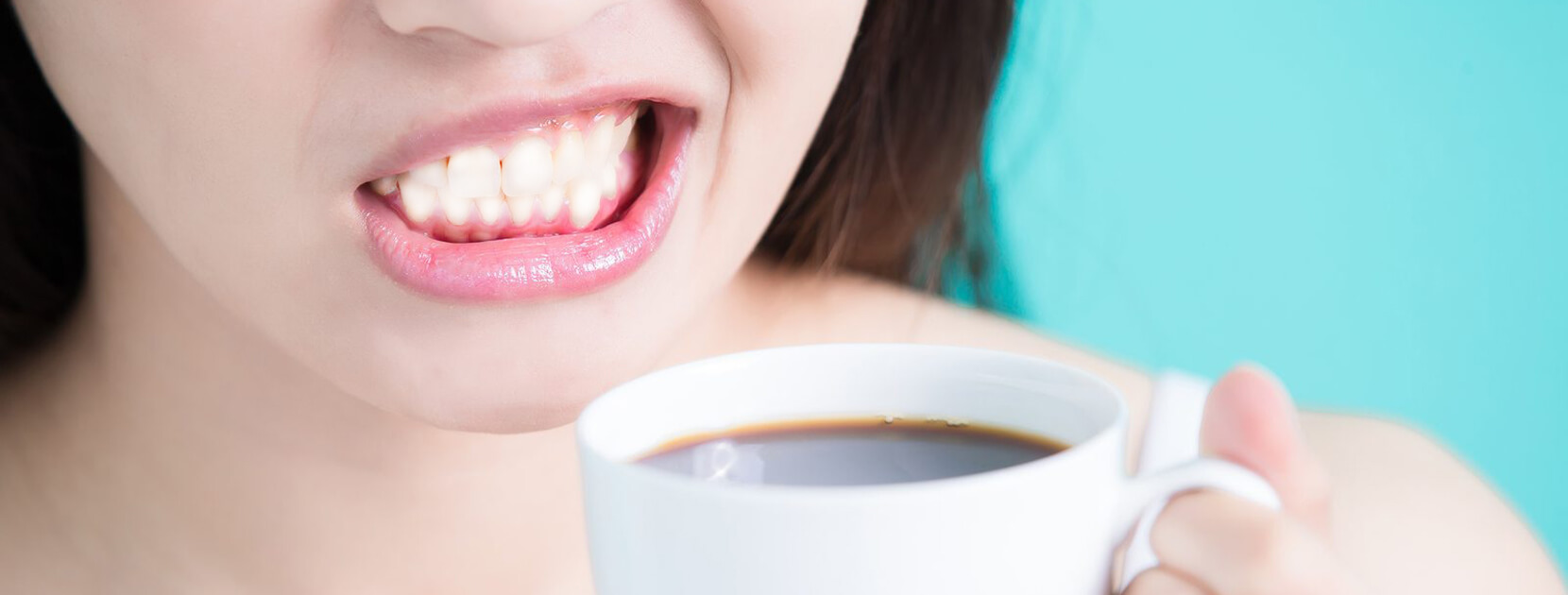 teeth whitening from coffe stain