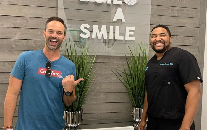 Nick Kosir of Fox 46 Charlotte visited Dr. Ramsey at Build-A-Smile in Charlotte